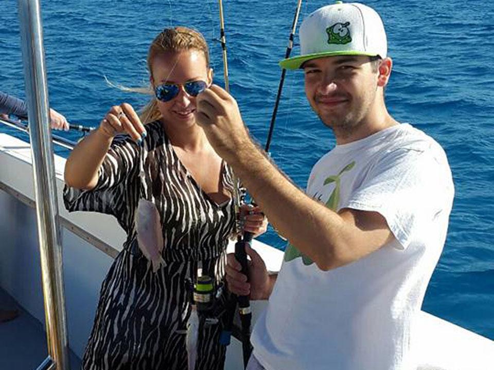 Dolphin boat safari in ayia napa deep sea fishing for Dolphin deep sea fishing